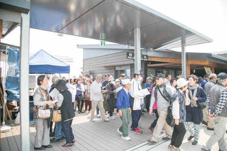 道の駅(オープン時)