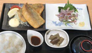 旬な鯵づくし定食(1380円)
